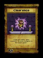 Clearence - Custom Card