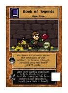 Book Of Legends - Custom Card