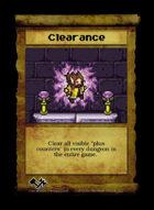 Clearance - Custom Card