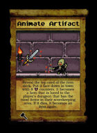 Animate Artifact - Custom Card