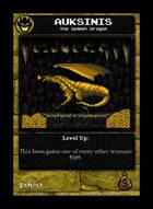 Auksinis - Custom Card