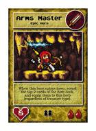 Arms Master - Custom Card