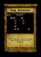 Bug Invasion - Custom Card
