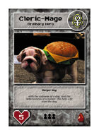 Burger Dog - Custom Card