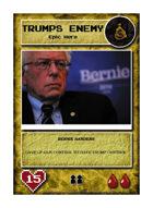Bernie Sanders - Custom Card