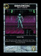 Brainiac - Custom Card