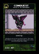 Conquest - Custom Card