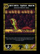 Arrakis Spice Worm - Custom Card
