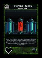 Cloning Tanks - Custom Card
