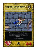 Caped Crusader - Custom Card