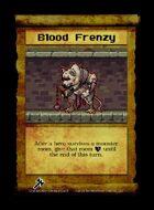 Blood Frenzy - Custom Card