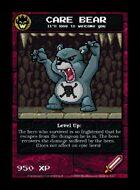Care Bear - Custom Card