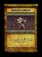 Advancement - Custom Card