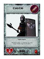 Castle Guard  - Custom Card