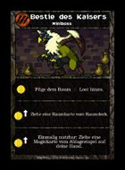 Bestie Des Kaisers - Custom Card