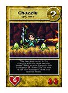 Chazzie - Custom Card