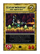 Exterminator - Custom Card