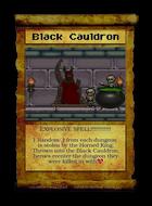 Black Cauldron - Custom Card