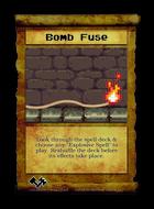 Bomb Fuse - Custom Card