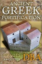 Ancient Greek fortification (Built Up Area for DBA)