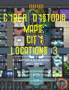 Cyber Dystopia - City Locations 3 Map Pack