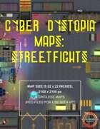 Cyber Dystopia - Streetfights Map Pack