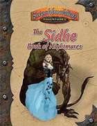 The Sidhe Book of Nightmares (Swashbuckling Adventures)