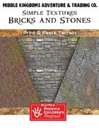 Simple Textures: Bricks & Stones