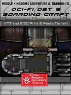 Sci-Fi Map Tiles - Boarding Craft