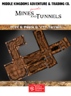 Adventure Tiles: Mines and Tunnels