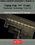 "Adventure Map Tiles: Take The ""M"" Train"