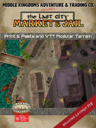 Battle Map: The Last City: Market & Jail