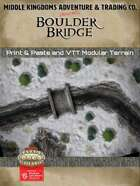 Battle Map: Boulder Bridge
