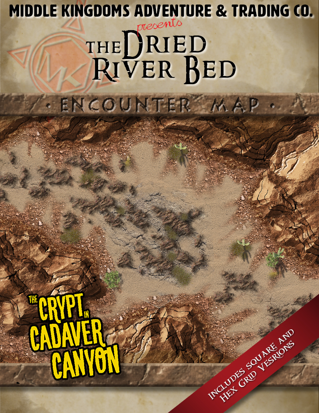 Battle Map: The Dried River Bed