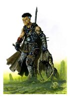 RPG Fantasy Character, Male, Human Witch Hunter