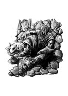 RPG Fantasy Character, Male, Human Beggar Thief