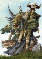 RPG Fantasy Character, Male, Orc Shaman