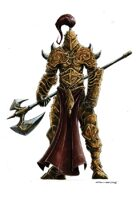 RPG Fantasy Character, Male, Cleric/Warrior