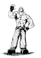 RPG Post-Apocalypse Character, Male