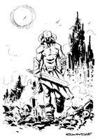 RPG Fantasy Character, Male, Human Barbarian