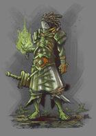 RPG Fantasy Character, Male, Human Savage Wizard
