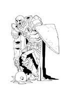 RPG Fantasy Creature, Undead Warrior