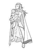 RPG Fantasy creature, male, vampire warrior L