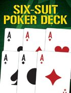 Six-Suit Poker Deck