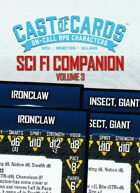 Cast of Cards: Science Fiction Companion, Vol. 3