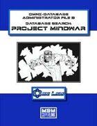 OMNI-Database 3: Project Mindwar