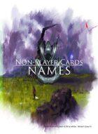 Non-Player Cards: Names