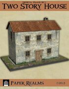 Medieval Village Set 1 - Two Story House