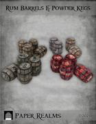 Rum Barrels & Powder Kegs
