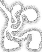 Map Hash Pattern for Gimp